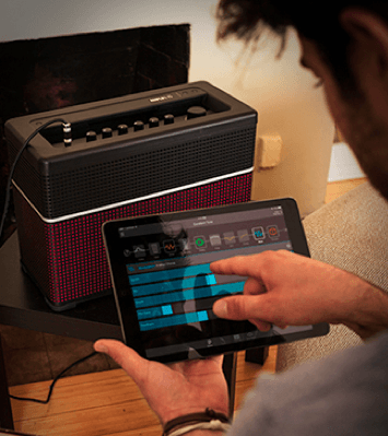 control guitar amp wirelessly