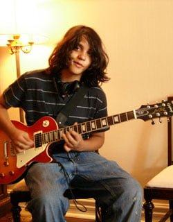 Intermediate guitarist